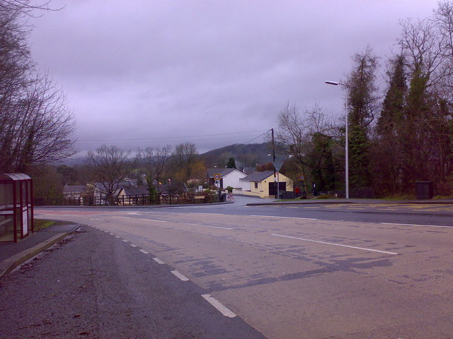 Junction with Bolahaul Road