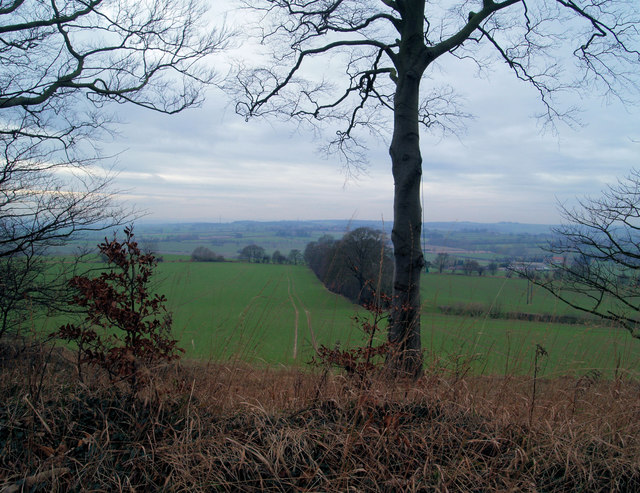 Looking West across the Dearne Valley to Barnsley and the Pennines