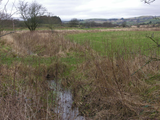 Drained fields neared Brynhope