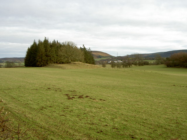 Farmland near Llandegla.