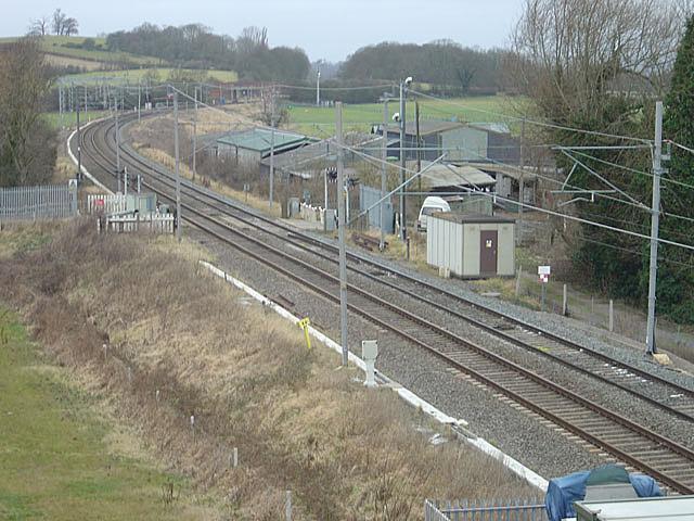 Banbury Lane level crossing