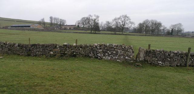 Stile on The Limestone Way, on Hollington End Farm