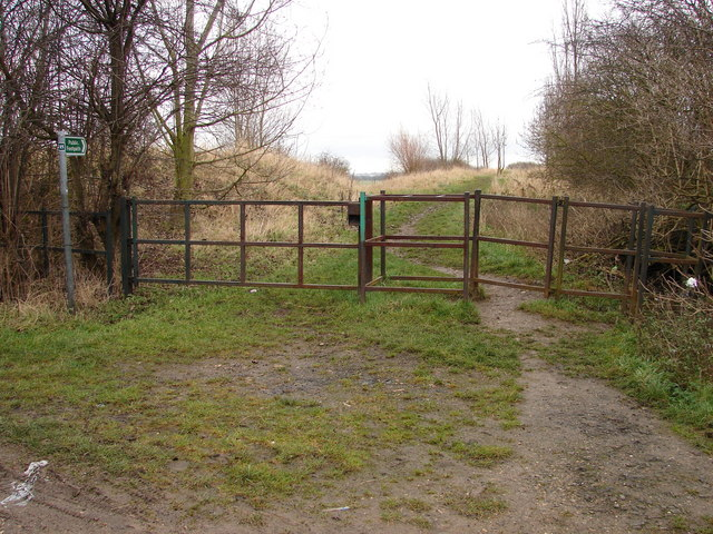 Entry Point to Humberhead Peatlands National Nature Reserve