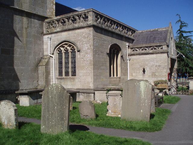 Entrance to Bathampton Parish Church