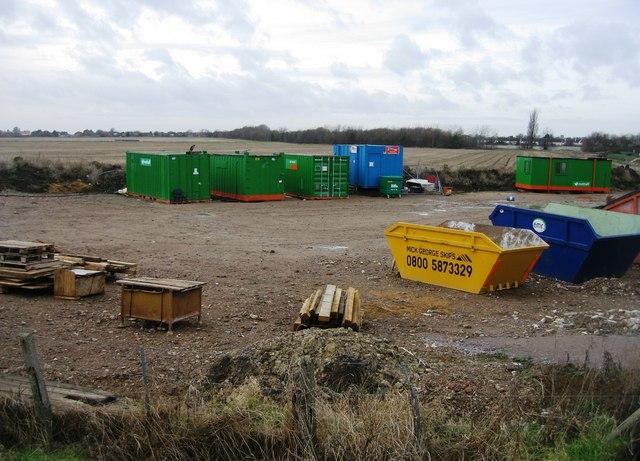 Builders storage yard