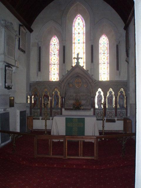 Altar at St Nicholas