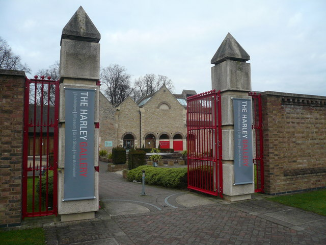 Entrance to The Harley Gallery