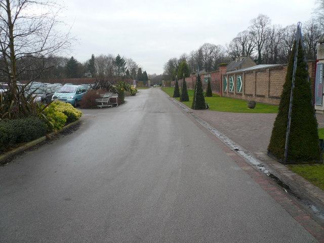 Dukeries  Garden Centre Car Park