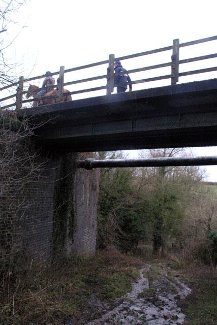 Tissington Trail, from beneath