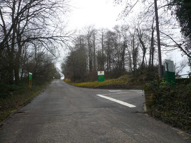 Tarmac Site Entrance - Bolsover Moor Quarry