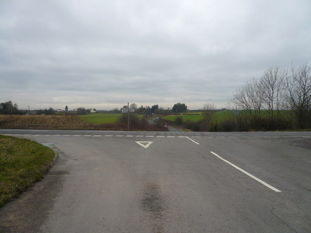 B6417 Road Junction