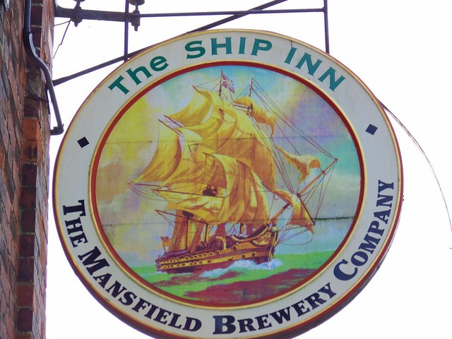 Sign for the Ship Inn, Sewerby