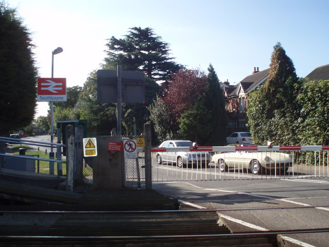 Western end of Southbourne Station