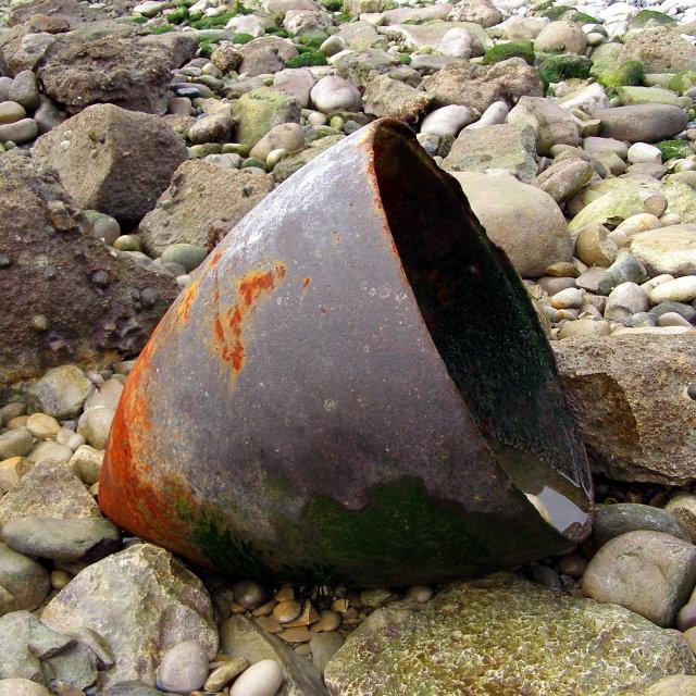 Military debris, Pondfield Cove