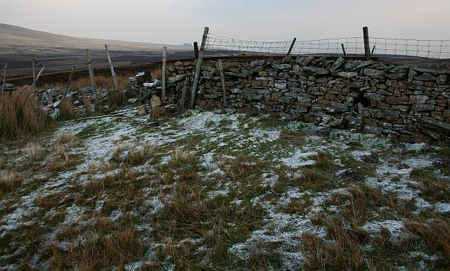 Drystone Wall on North Tarn Hill