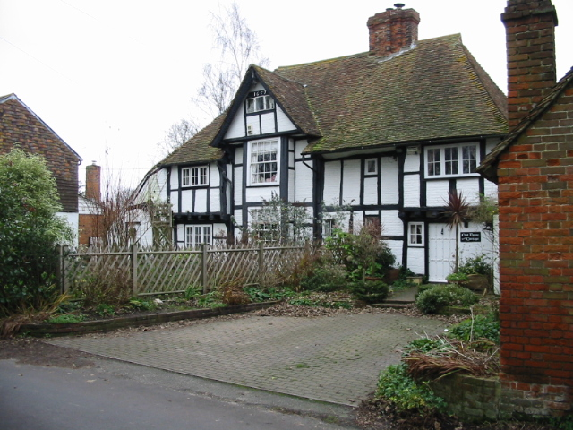 Old houses on Southenay Lane