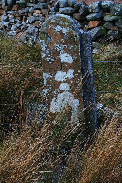 Boundary Stone on Fleensop Moor