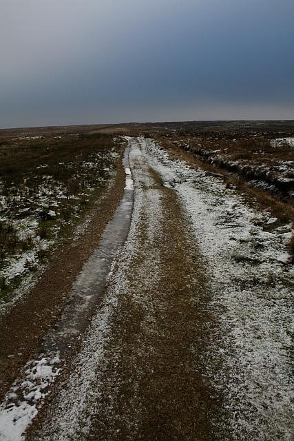 Bridleway Over Fleensop Moor