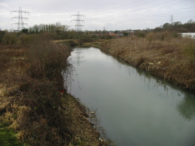 The Great Stour from Vauxhall Road