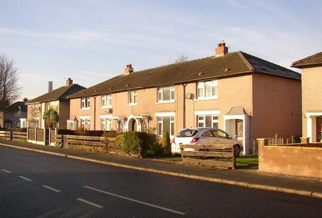 Houses, Willow Lane, Lancaster