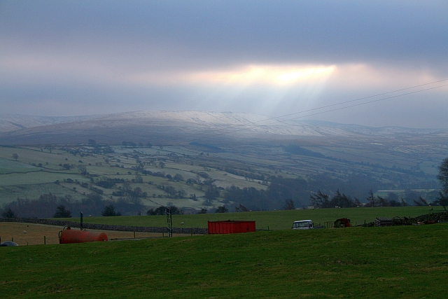 Ray of Sun over Coverdale