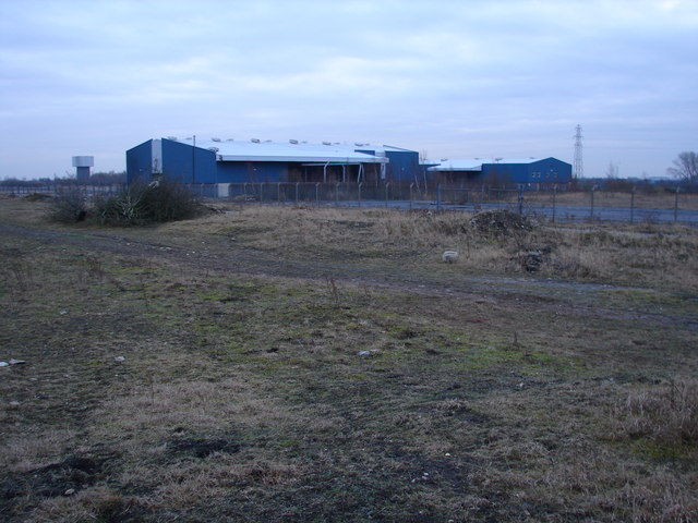Buildings at Former Colliery