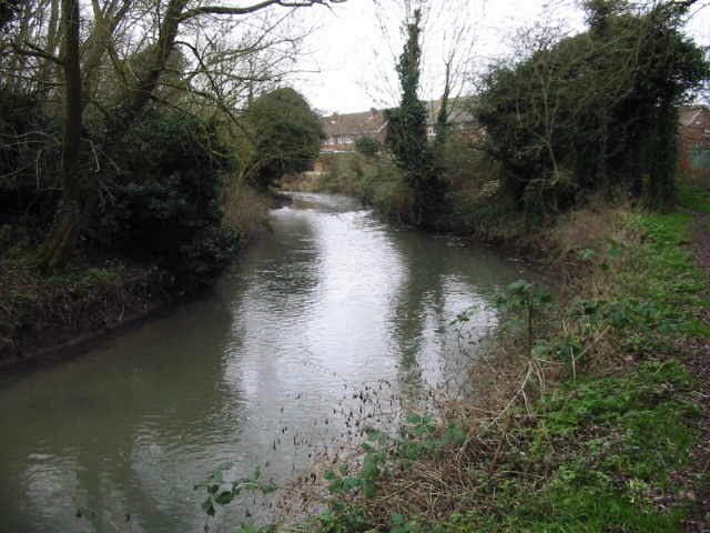 Great Stour near the Broad Oak Road