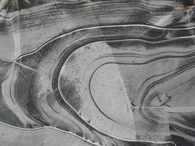Ice patterns, Strath Naver