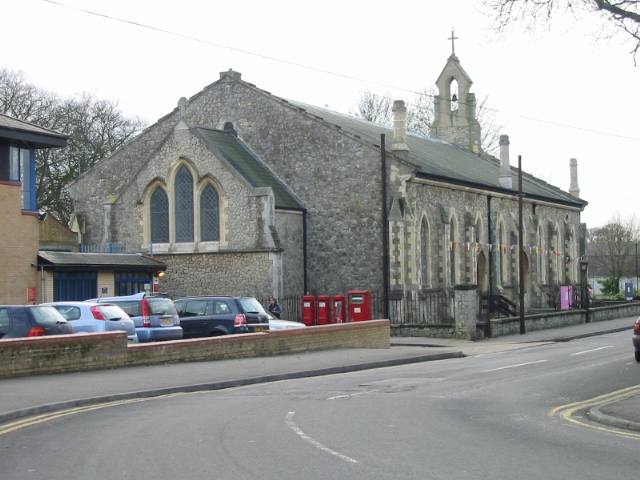 All Saints church on Military Road