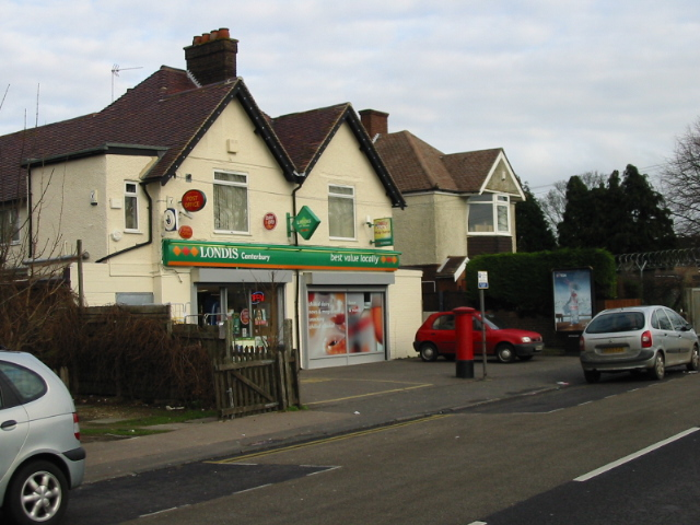 Local shop on the outskirts of Canterbury