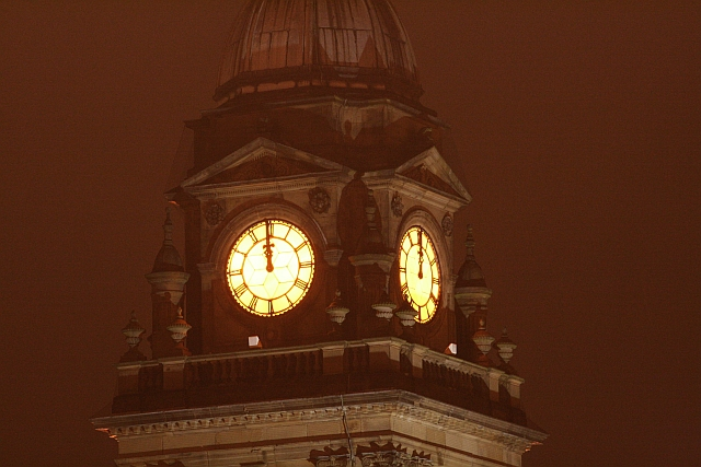 Morley Town Hall Clock