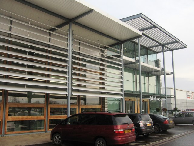 John Lewis service building