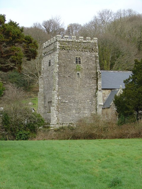 Nevern Church Tower