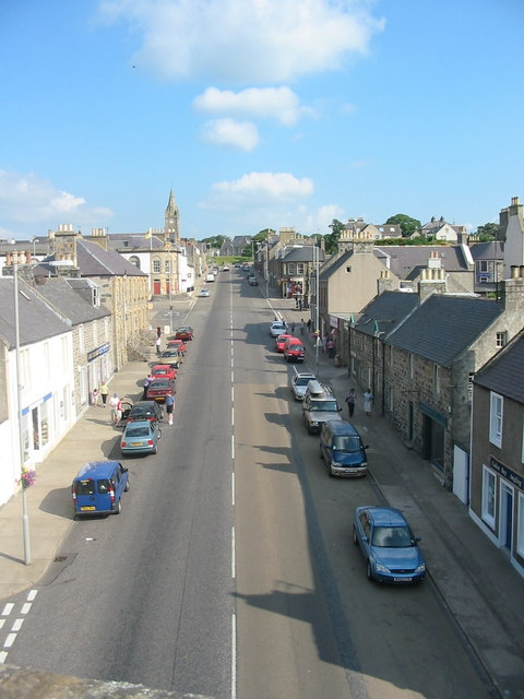 Seafield St from viaduct