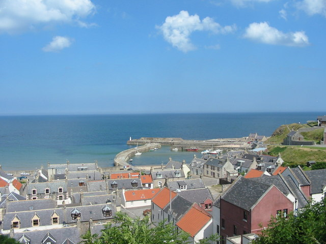 Harbour from disused railway