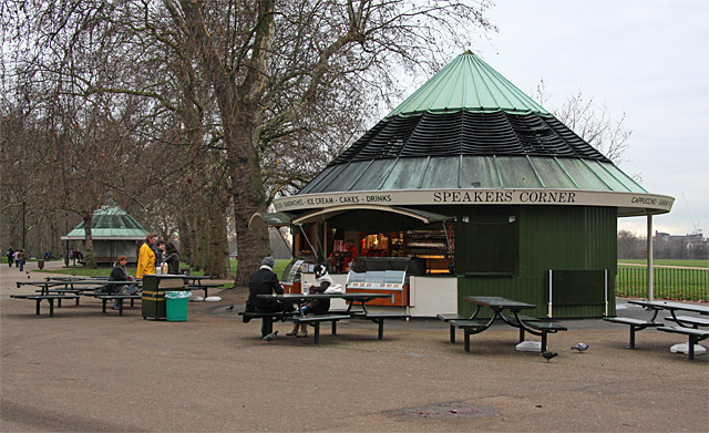 Cafe Culture at Speakers Corner