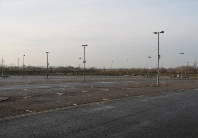 Empty Park & Ride
