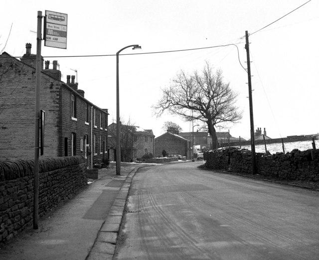 Rooley Moor Road at Lanehead