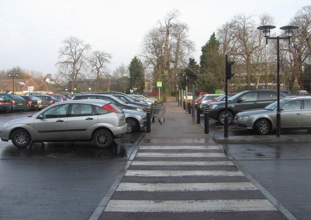 Waitrose Car Park Kenilworth