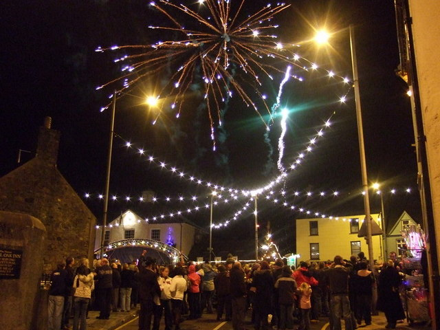 Blwyddyn Newydd Dda, Abergwaun, 2008