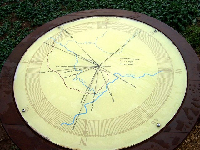 Viewpoint dial on Pipers Hill