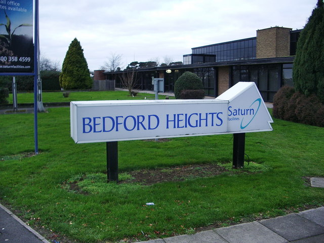 Bedford Heights, Brickhill Drive, Bedford, Sign