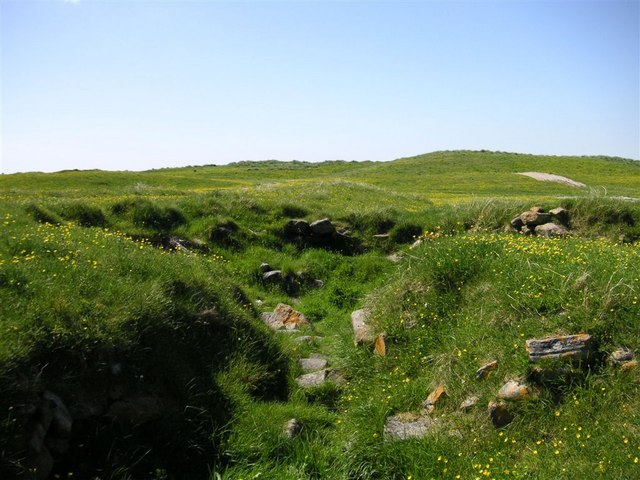The Iron age Wheelhouse at Kilpheder, South Uist