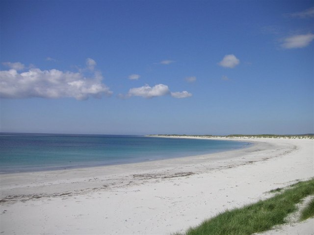 The beach at Kilpheder, South Uist