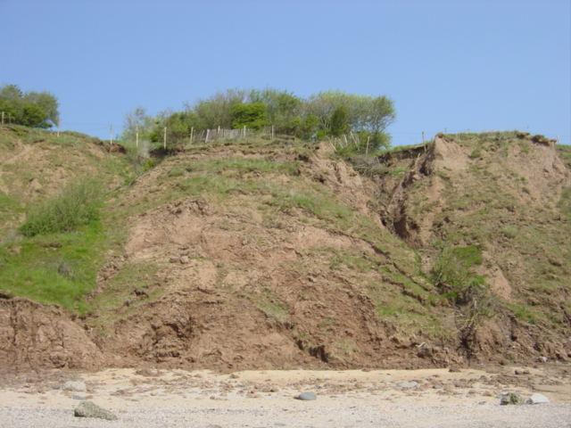 Coastal Erosion, Thurstaston