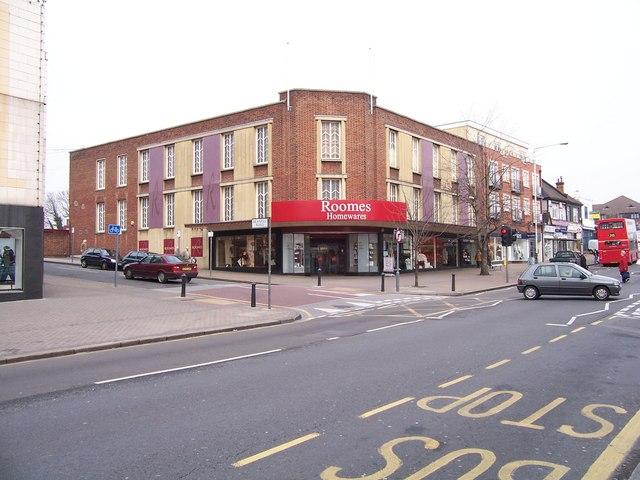 Upminster, Roomes Homewares Store