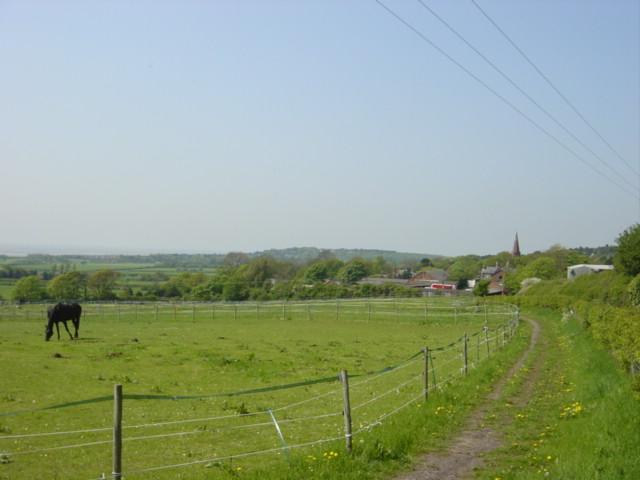 Footpath from Thurstaston to Oldfield