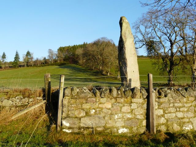 Standing Stone, about 10ft tall