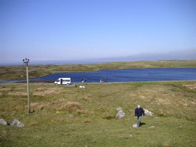 Loch Dòbhrain, South Uist