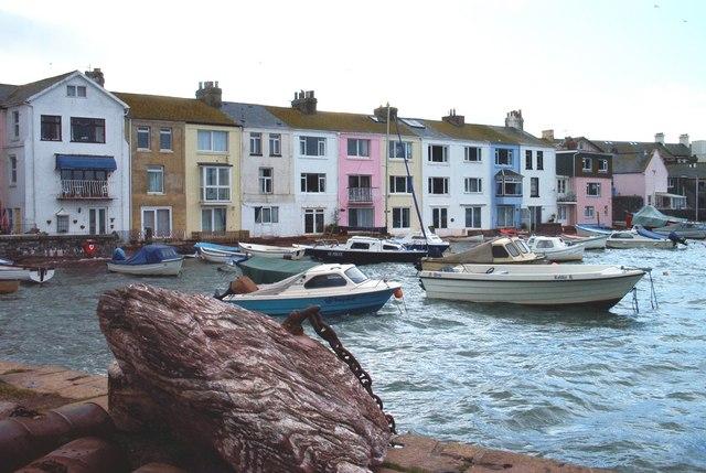 Teignmouth, Devon - Back Beach properties